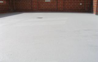 Epoxy gulv udestue