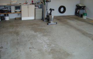 Epoxy garagegulv