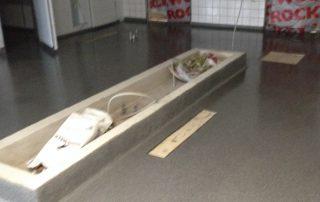 Epoxy gulv til badeværelse