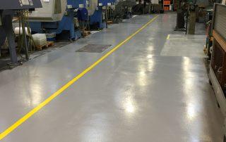 Produktionsgulv epoxy