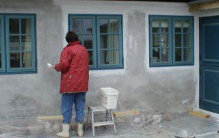 Epoxy vægbelægning